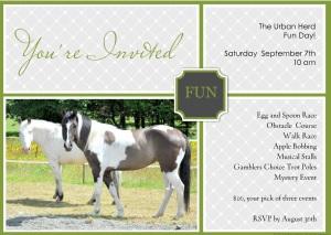 Fun Day invite